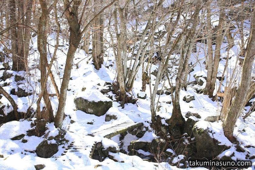 Entrance of Unazawa Mountain Trail
