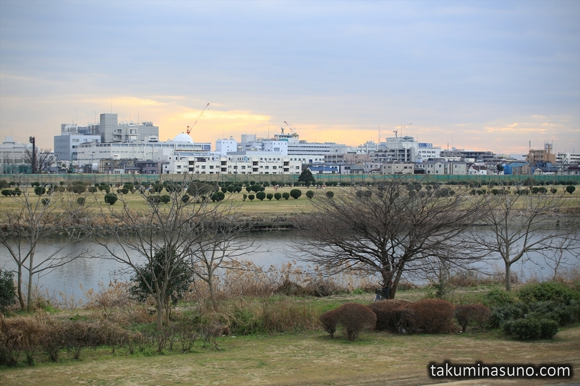 January Colors of Tama River