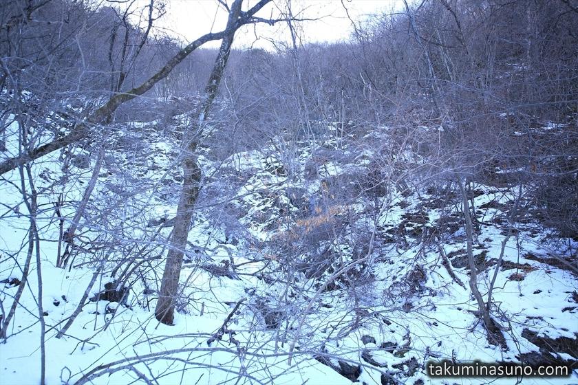 Snowy Trecking Course of Unazawa