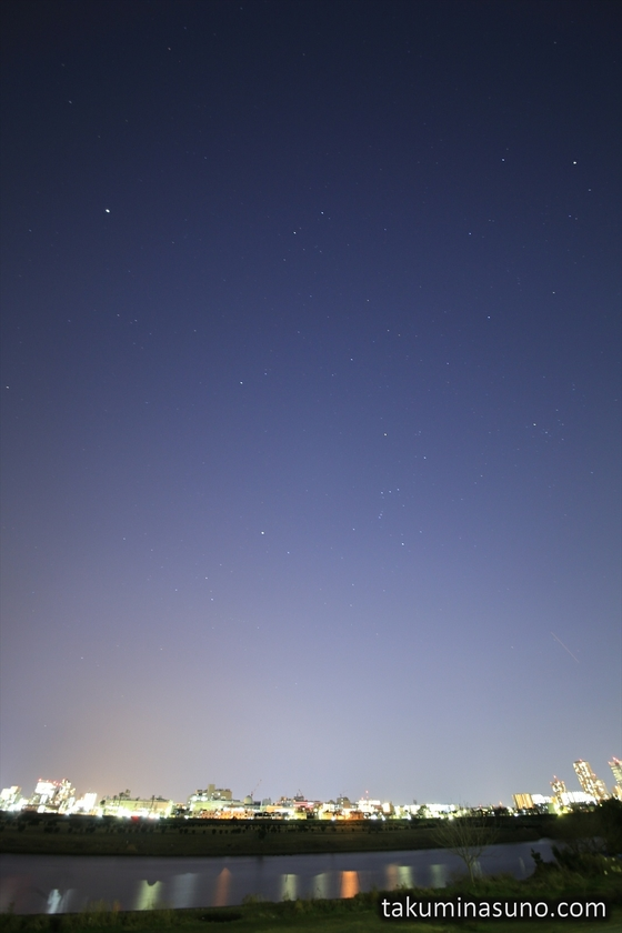 Starscape of Tama River