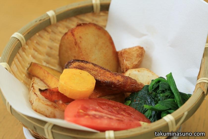 Baked Begetables at Kanta-kun Kamkura Vegetable Curry House