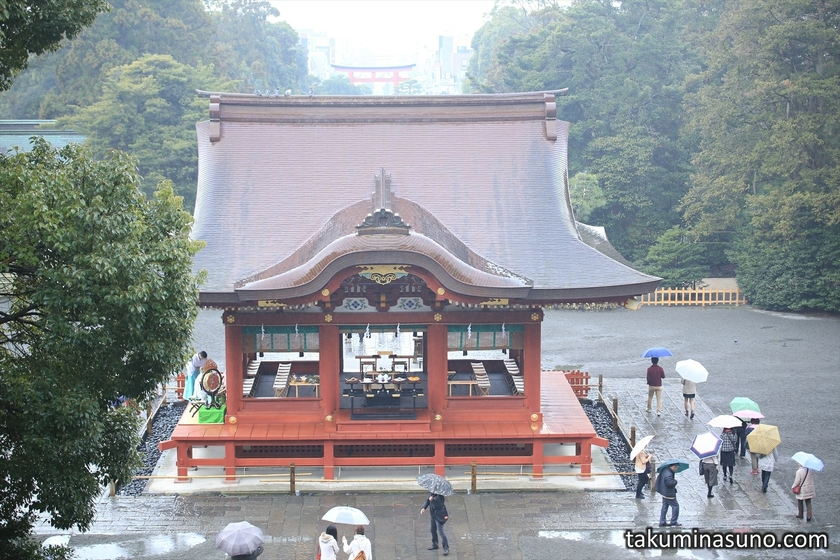 Maidono Dancing Stage of Tsurugaoka Hachimangu Shrine