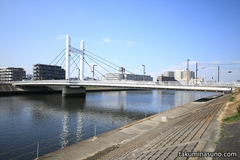 Landscapes of My Hometown Tsurumi - Riverside of the Lower Reaches of Tsurumi River