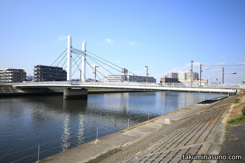 Morinaga Bridge over Tsurumi River