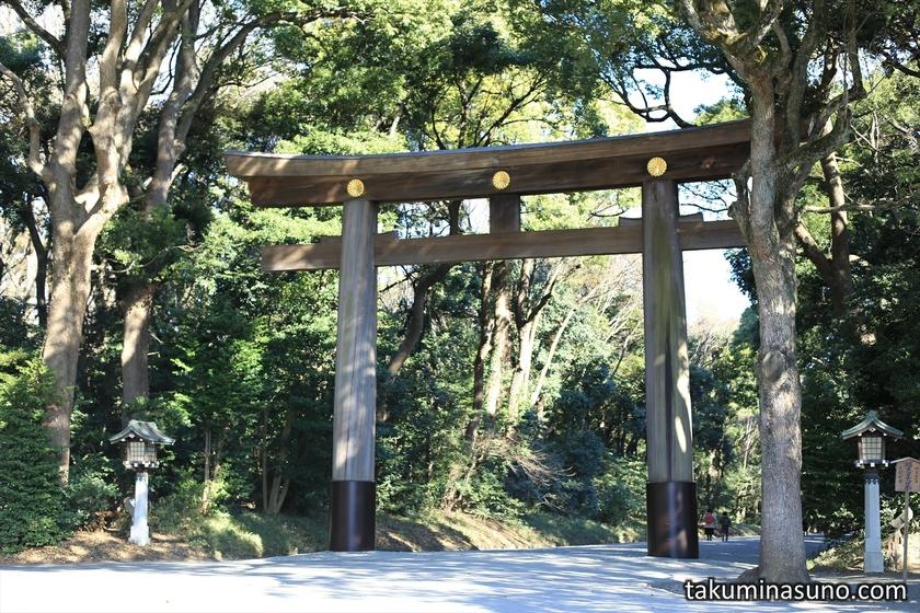 Shinto Gate of Meiji Jingu Shrine