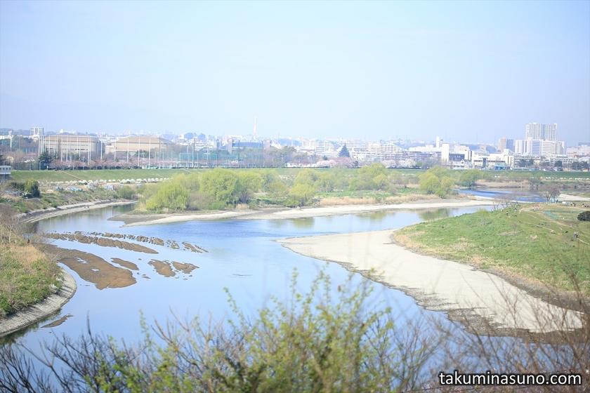Tama River from Tamagawadai Park
