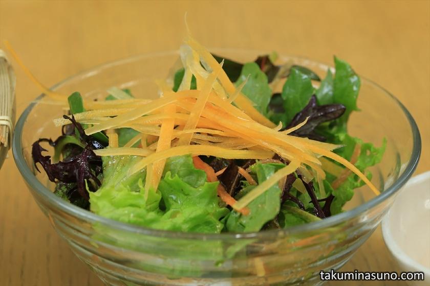 Vegetable Salad at Kanta-kun Kamkura Vegetable Curry House