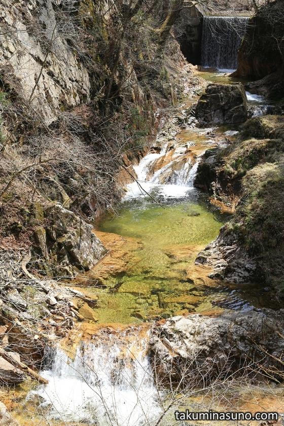 Transparent Waterfalls of Yamamoto Fudouson at Tanagura Town