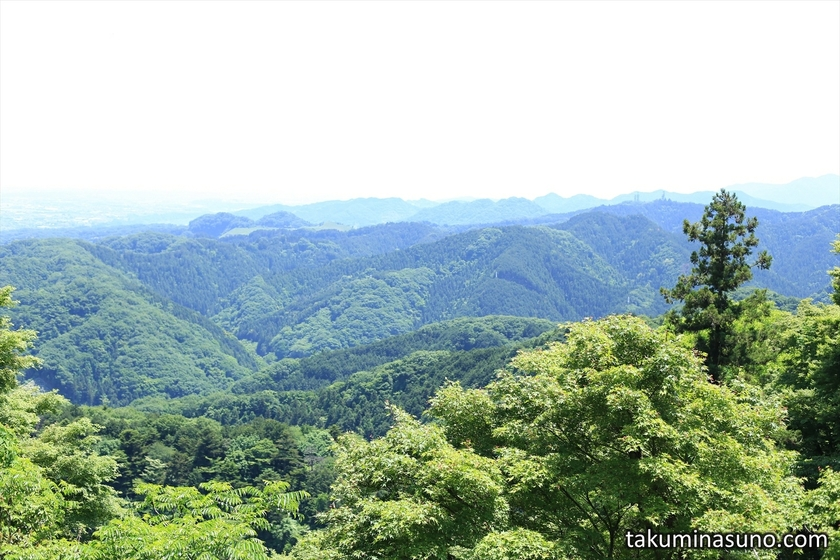 From Middle of Mt Takao