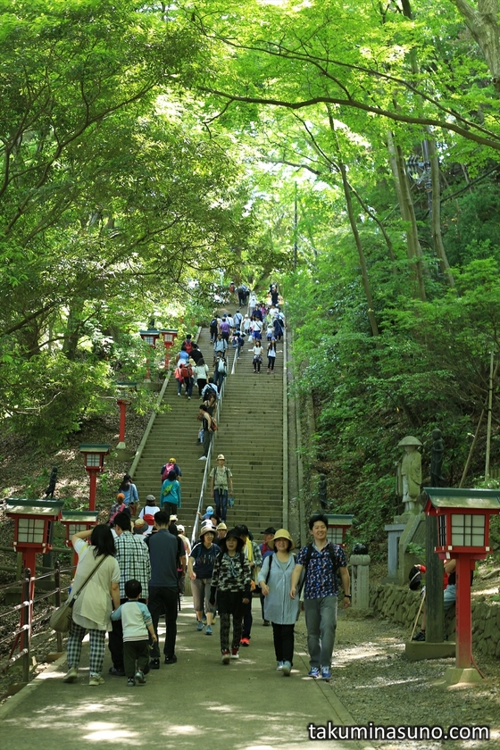 Long Stairs at Mt Takao