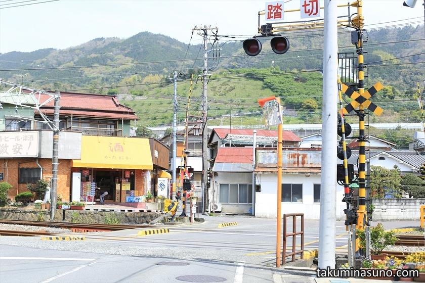 Railroad Crossing at Matuda Town