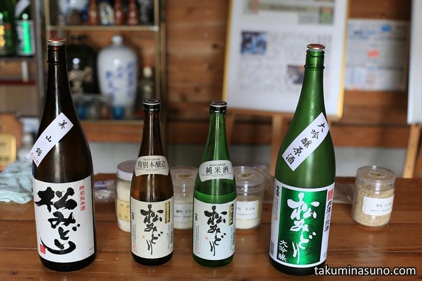 Sake Tasting from Nakazawa Sake Brewery
