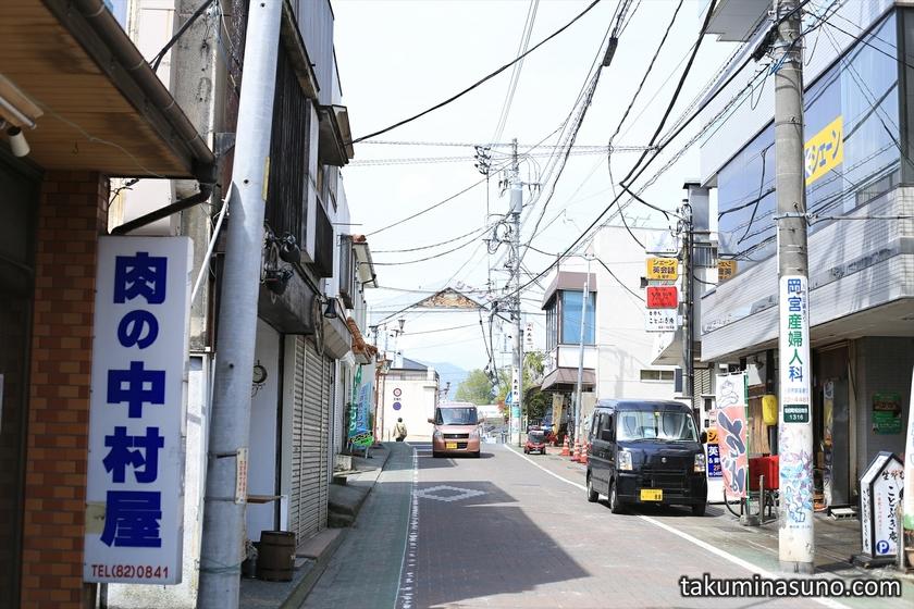 Shopping Street of Matuda Town