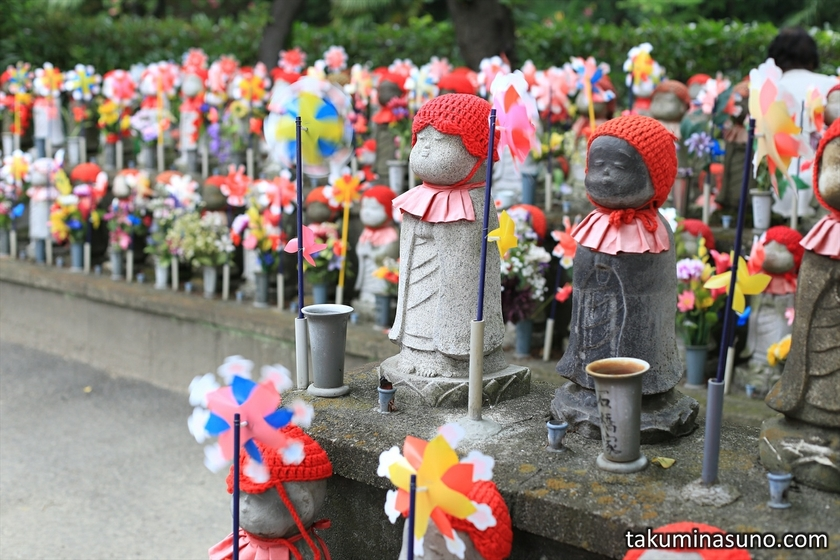 Guardian Deities of Children at Zojoji Temple