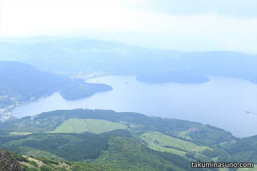 Lake Ashi of Hakone