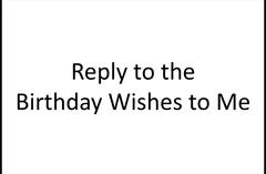 【メモ】誕生日祝いメッセージへの返し言葉