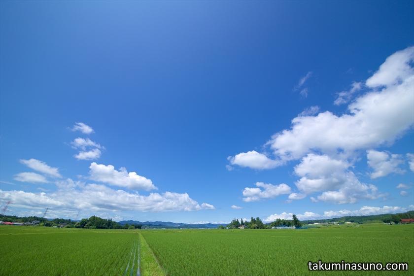 Sky of Tanagura Town