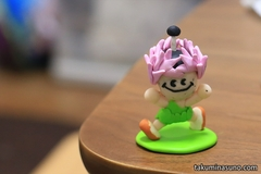 First Time to Try Color Clay Art on my Life! I made a doll of Tanachan, an Official Character of Tanagura Town
