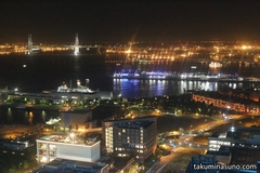 Yokohama Nightscape from High Altitude