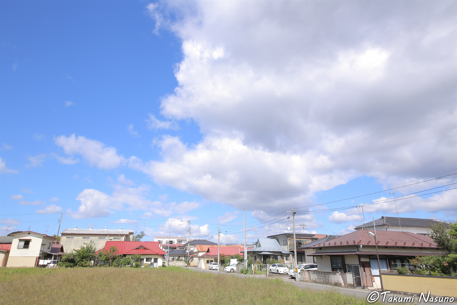 Big Clouds over Tanagura Town