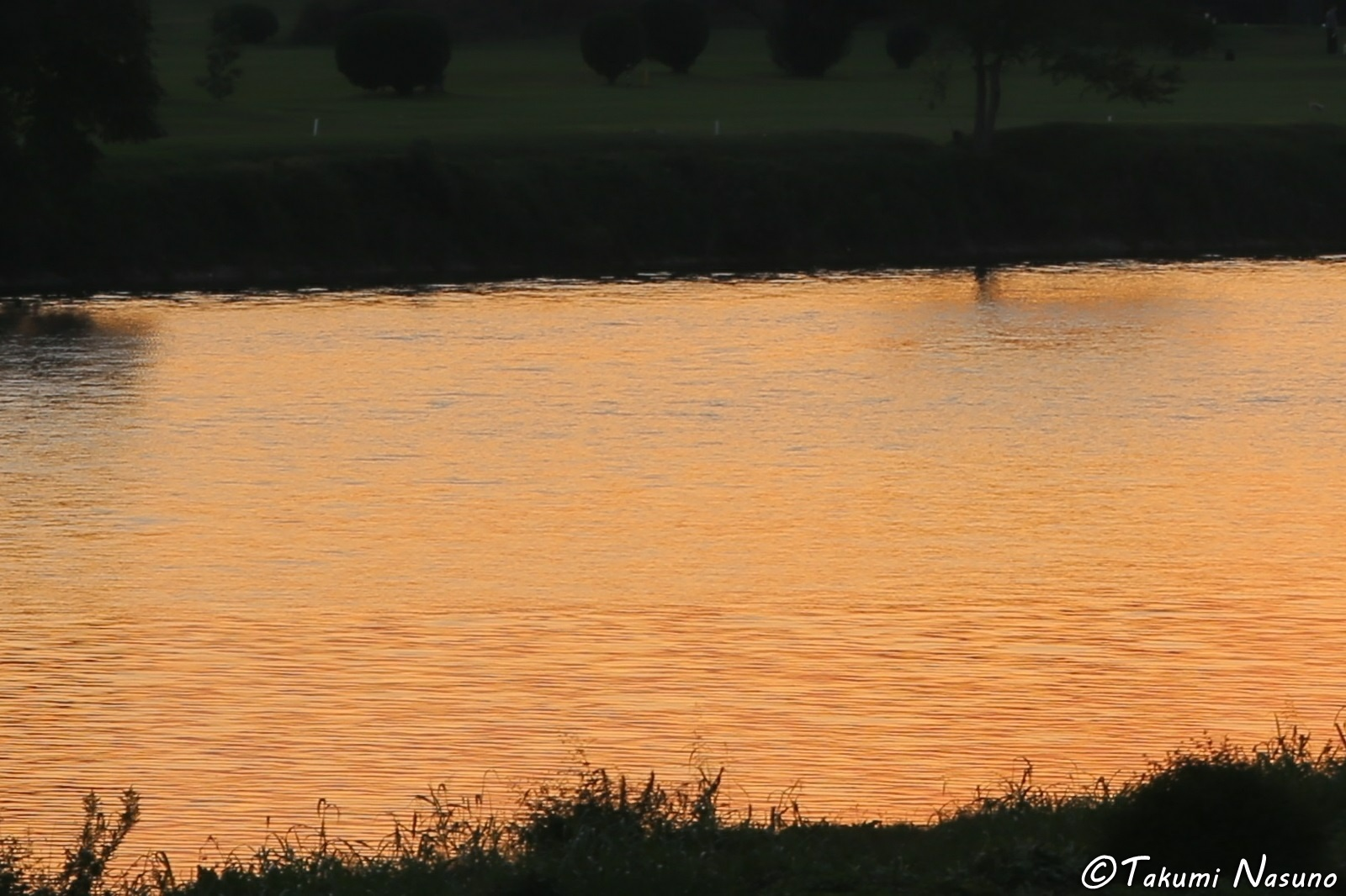 Sunset over Tama River cut2