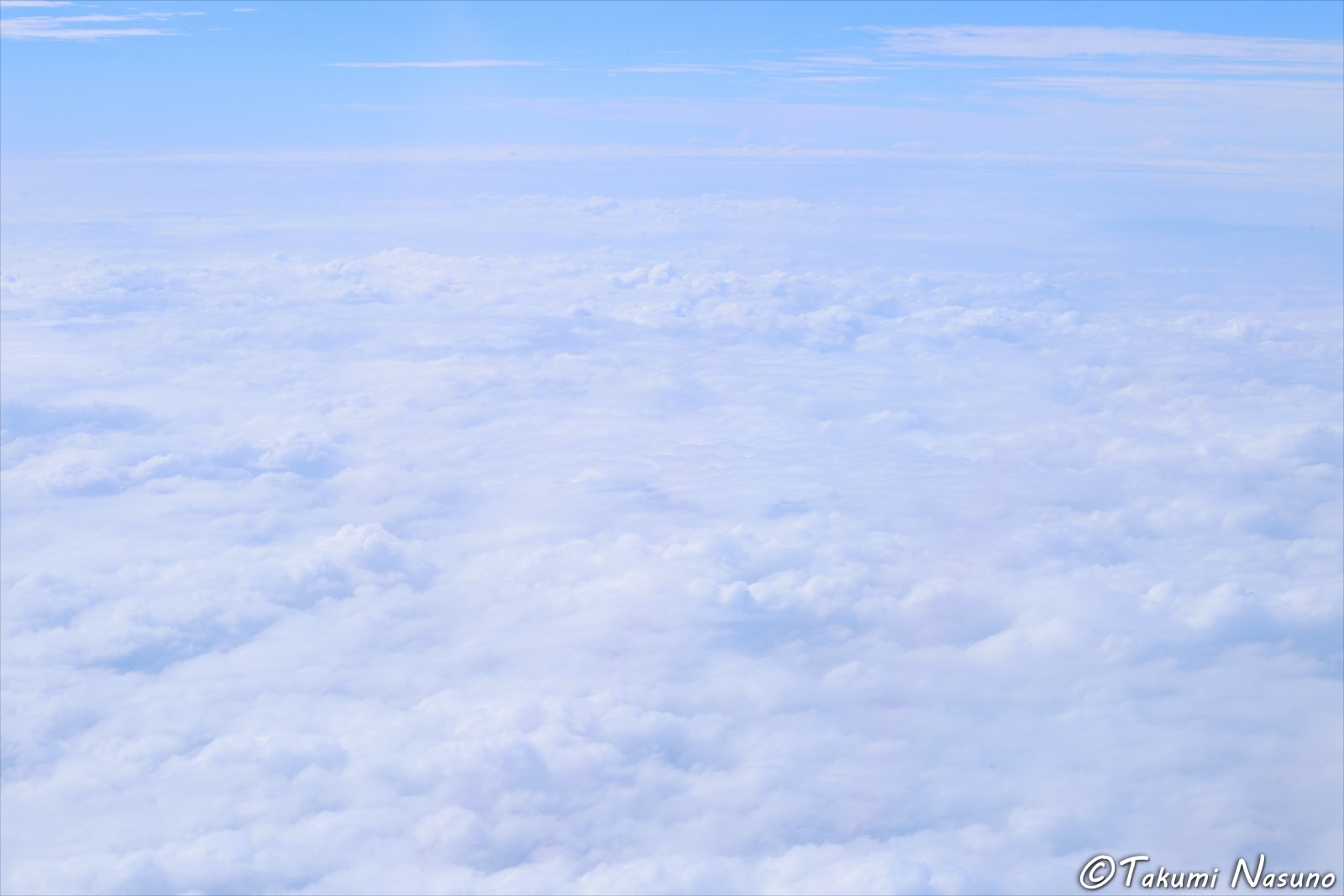 Lanscape of Sky from Aircract