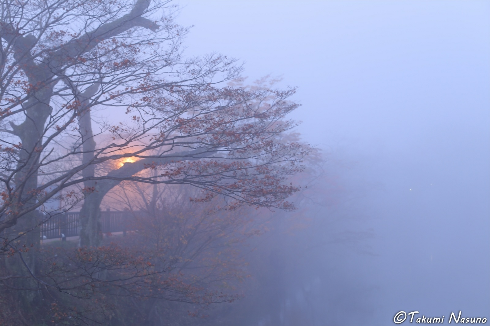 Light and Morning Mist of Tanagura Town