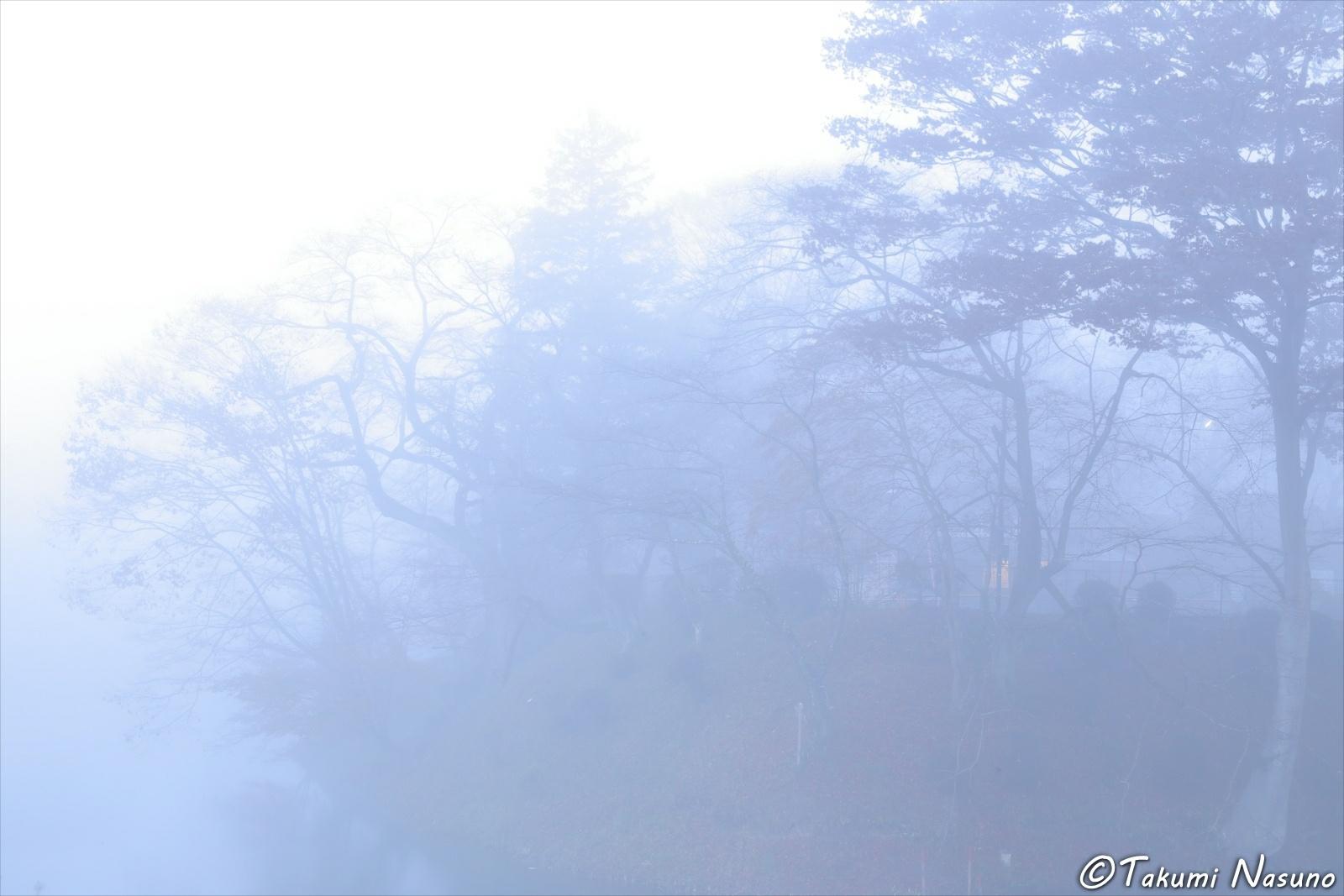 Site of Tanagura Castle in the Mist