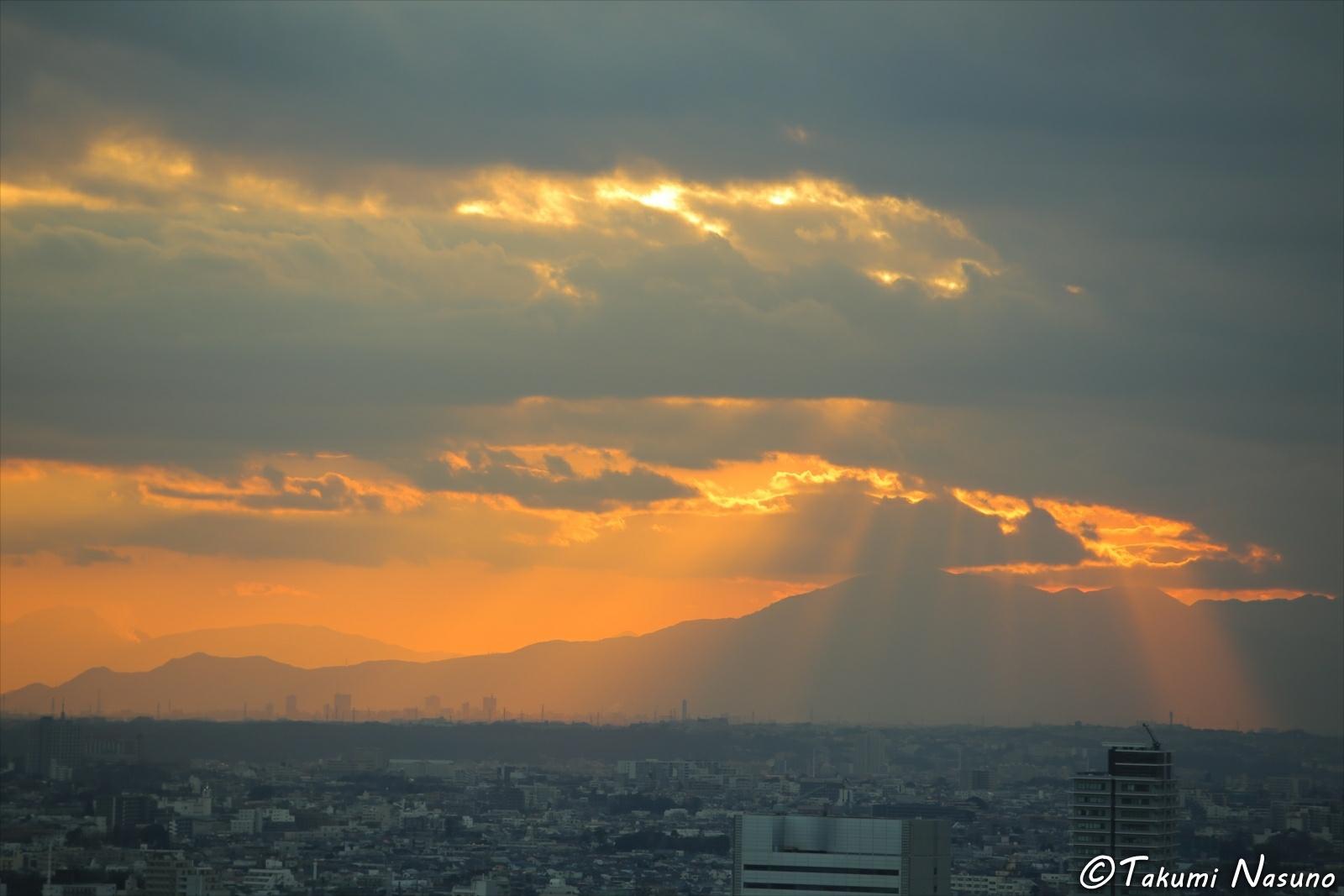 Sunset of Shinjuku