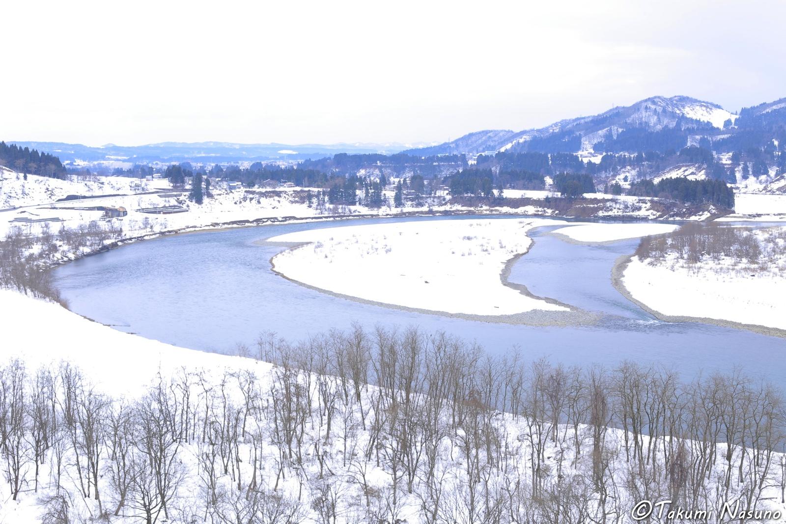 Winding River of Niigata Prefecture