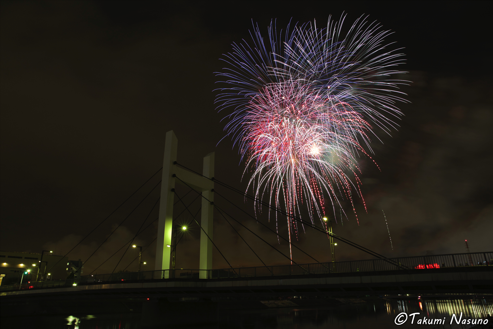 Tsurumi River Fireworks 2