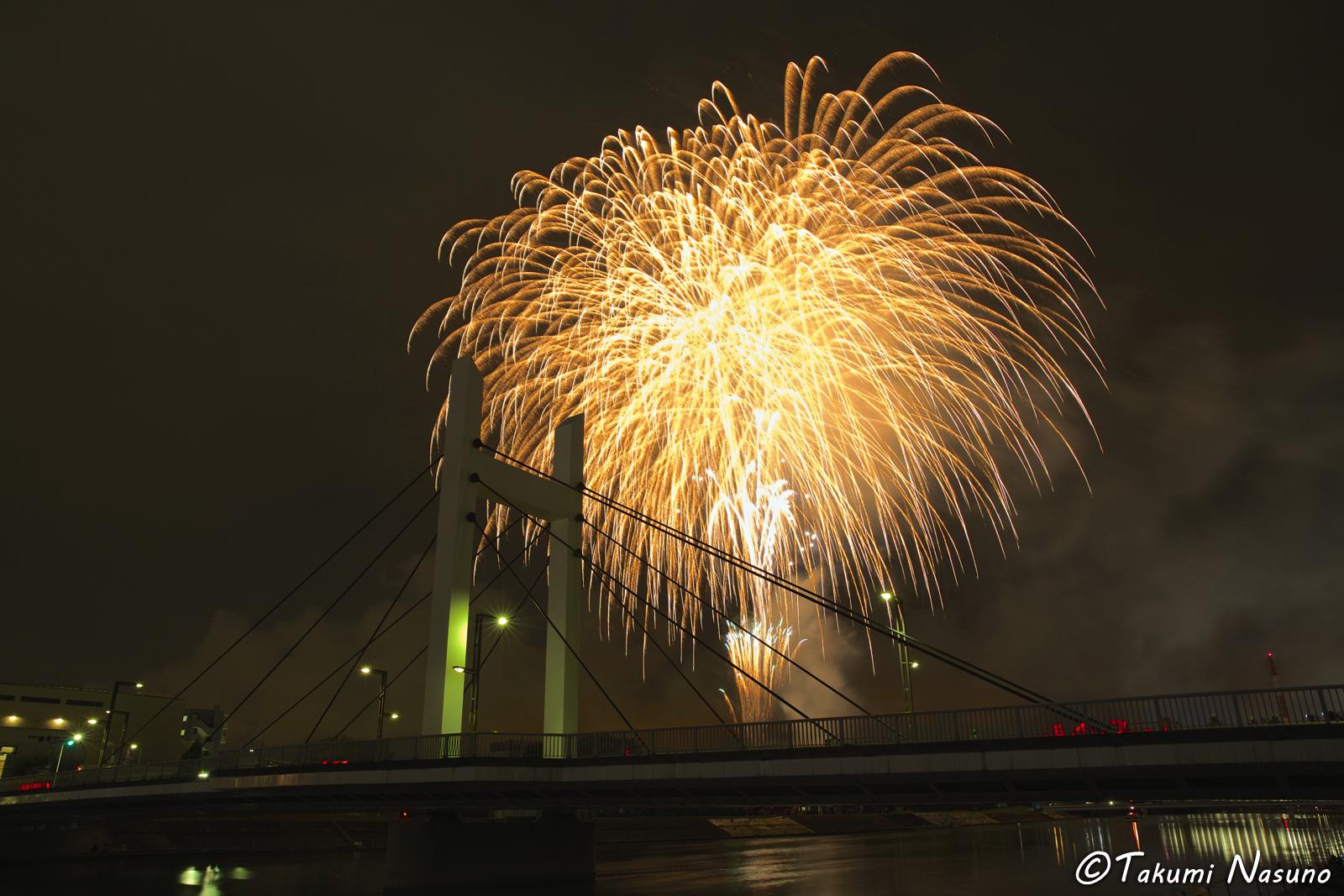 Tsurumi River Fireworks 3
