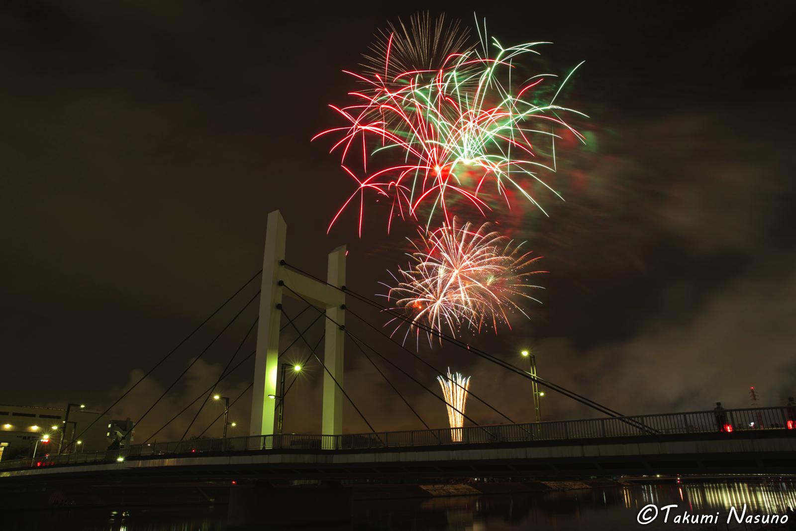 Tsurumi River Fireworks 4