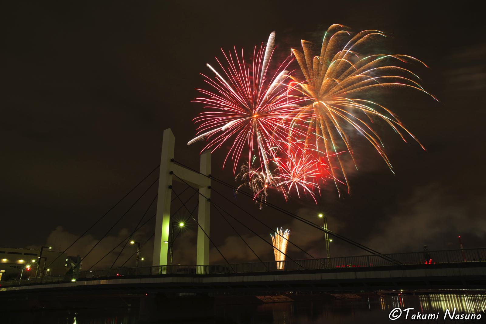 Tsurumi River Fireworks 5