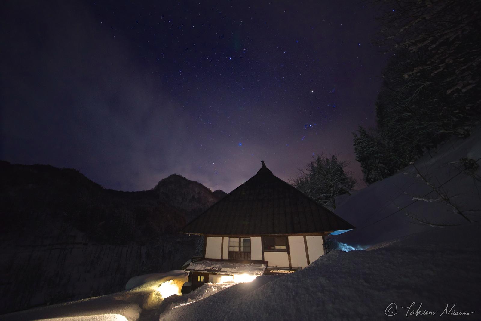 Starscape over KOZUENOYUKI Guesthouse