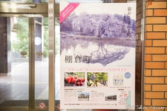 Thanks for using my photo of the Weeping Sakura Tree of Hanazono for appealing Tanagura Town in 2018 through Newspaper and Street Advertizements!