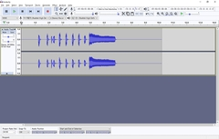 "Personal note of how to install the audio software ""Audacity"" to process MP3 files"