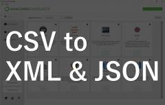 【Pythonデータ活用】CSVファイルをJSONファイル、XMLファイルに変換して出力してみる